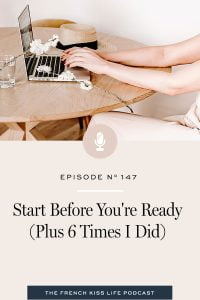 How to overcome the doubt that's telling you you're not ready.