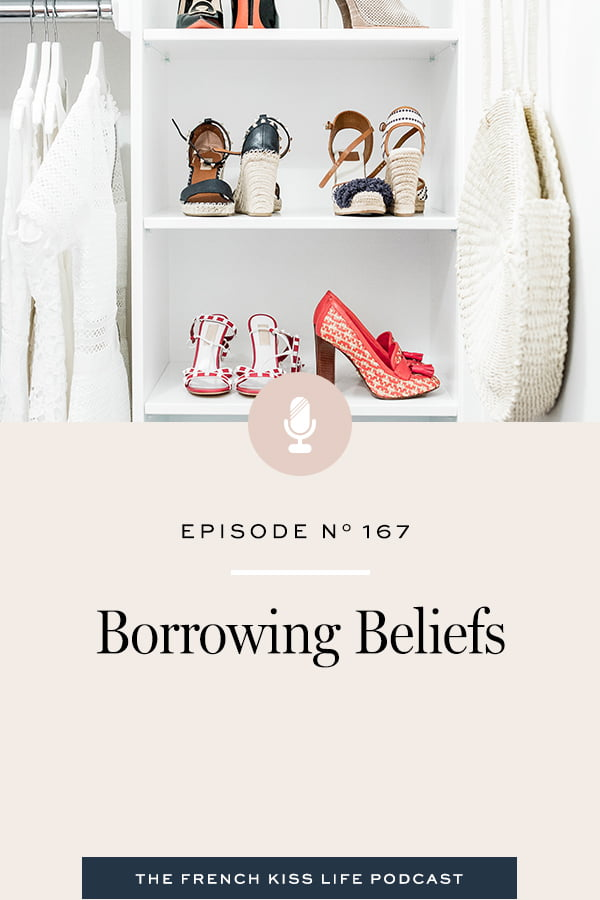 Why we borrow beliefs from other people... and how to try out new ones to better suit what you want from life.