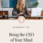 Why you should view your mind as a company where your thoughts are your employees.