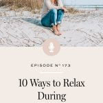 Practices to help you move away from anxiety and stress into a place where you can relax.