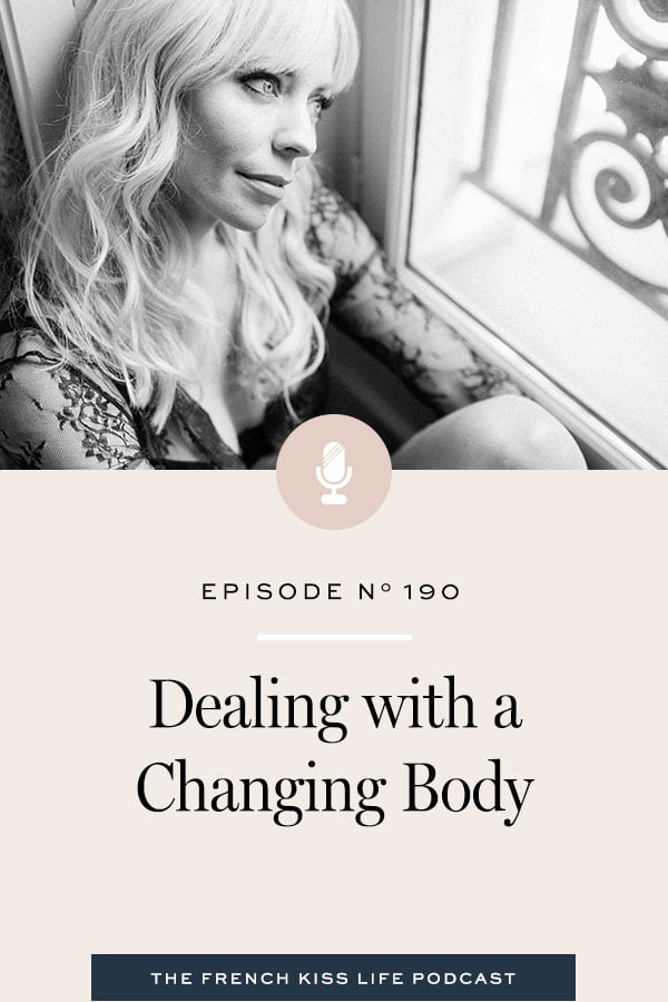 How to accept your body for the way it is showing up in this moment and still love it.