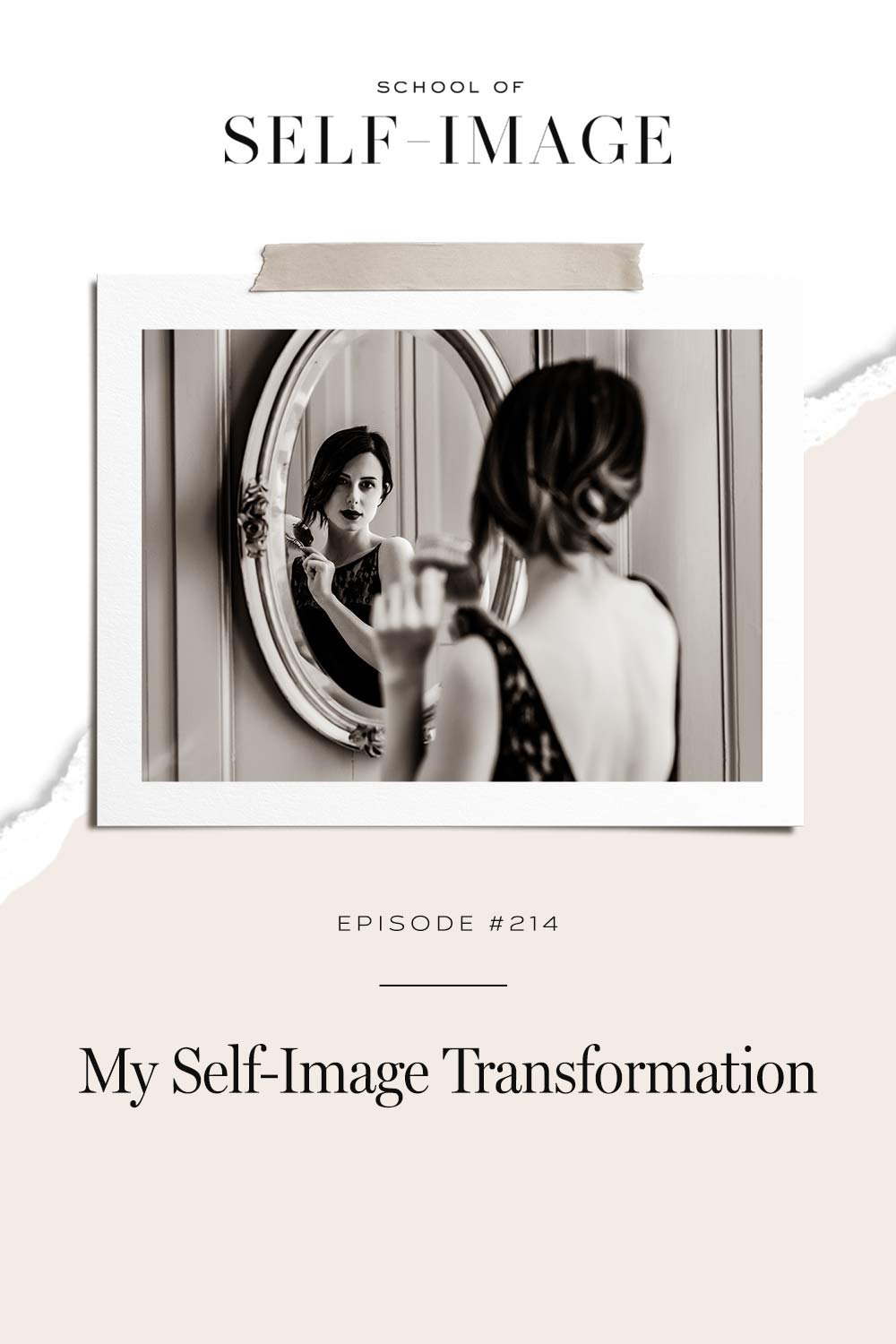 What is possible for your life when you decide to transform your self-image.