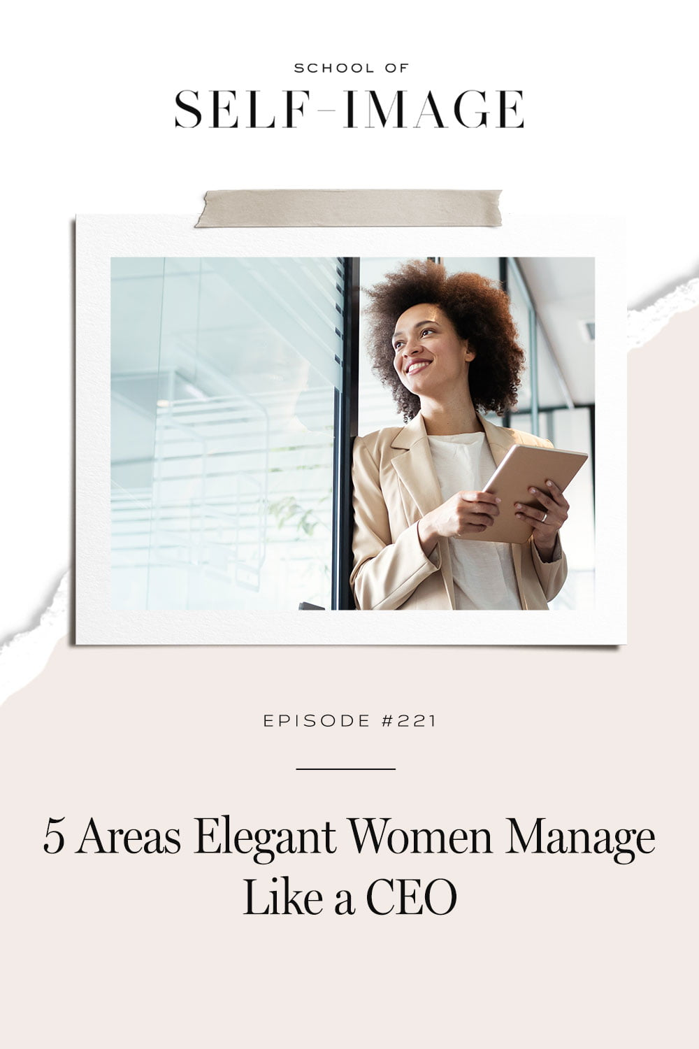 How I manage these areas in my own life and what has changed as a result.