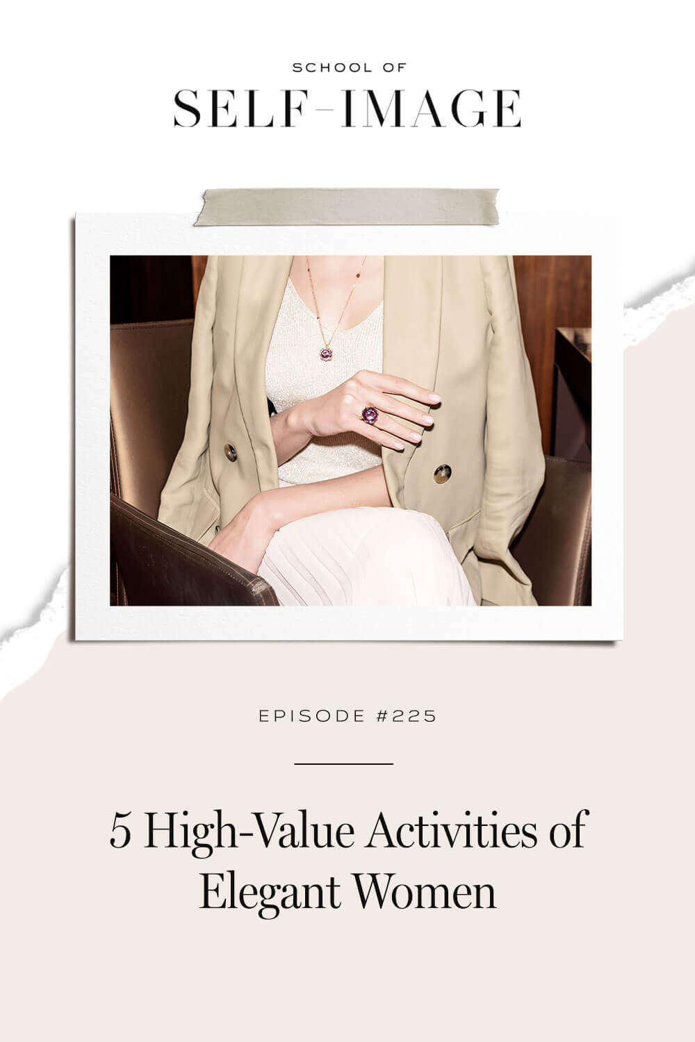Why high-value activities are so important if you want to live an elegant life.