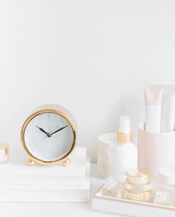elegant time management. concept