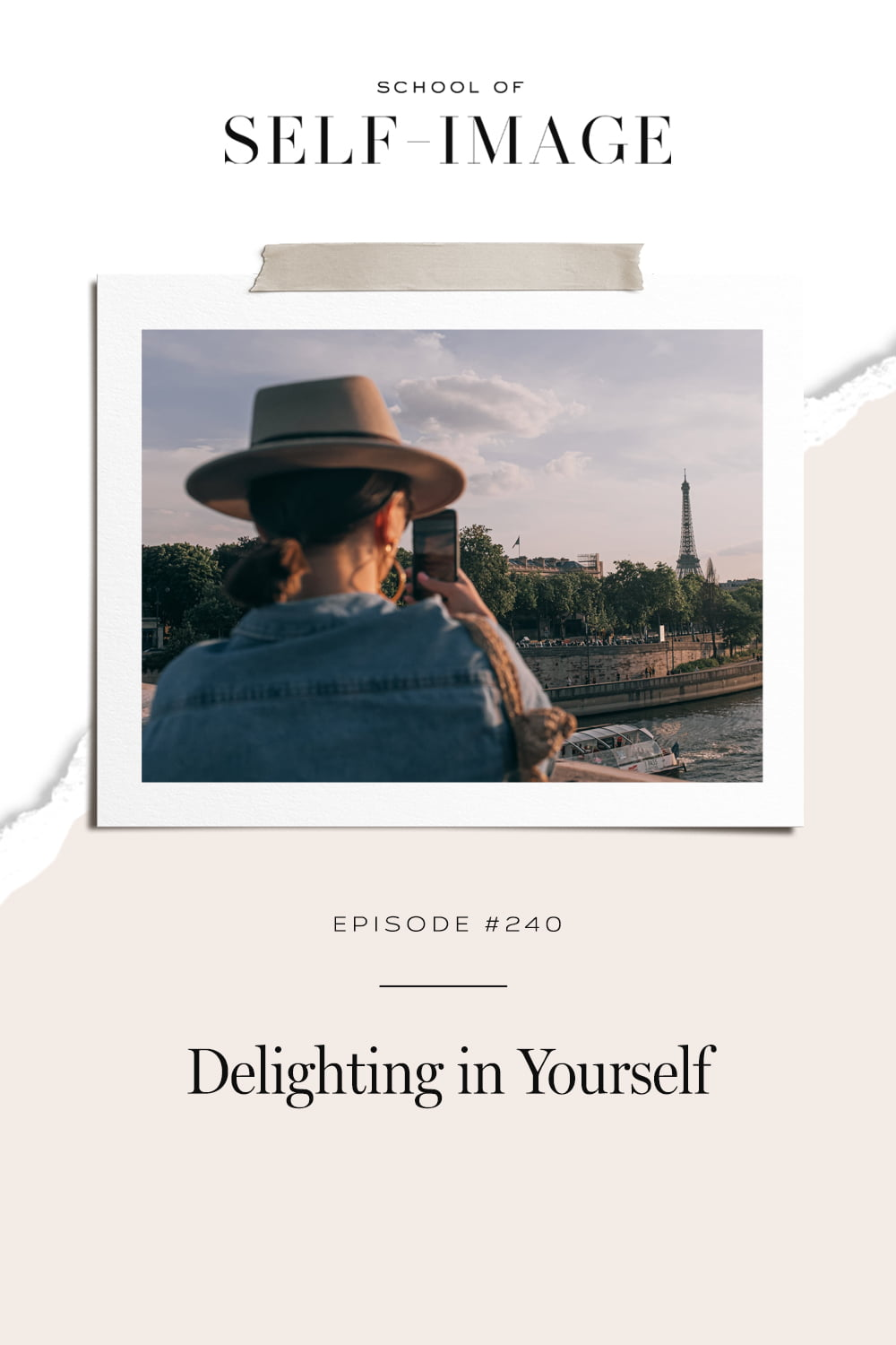 What it means to delight in yourself and why life is always better when you do.