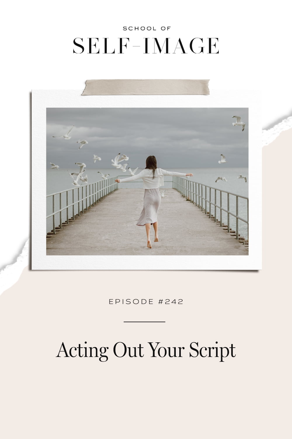 How to start reading from a different script and grow into the role you truly want to be playing in your life.
