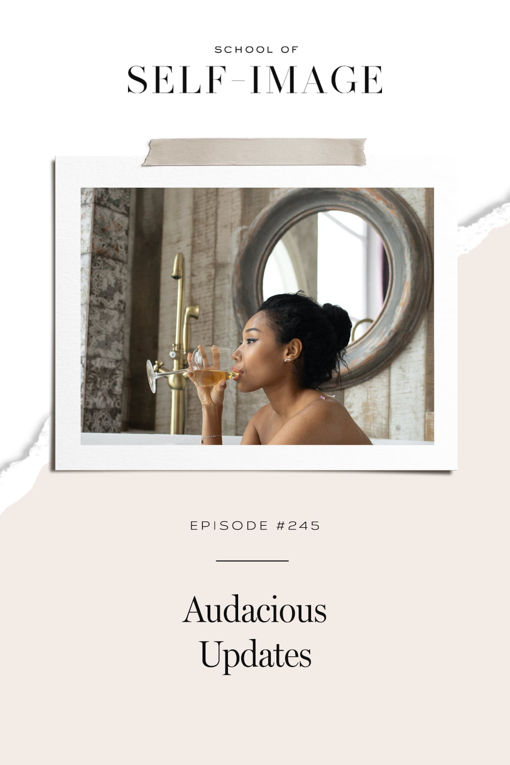 How to be more audacious in your life.