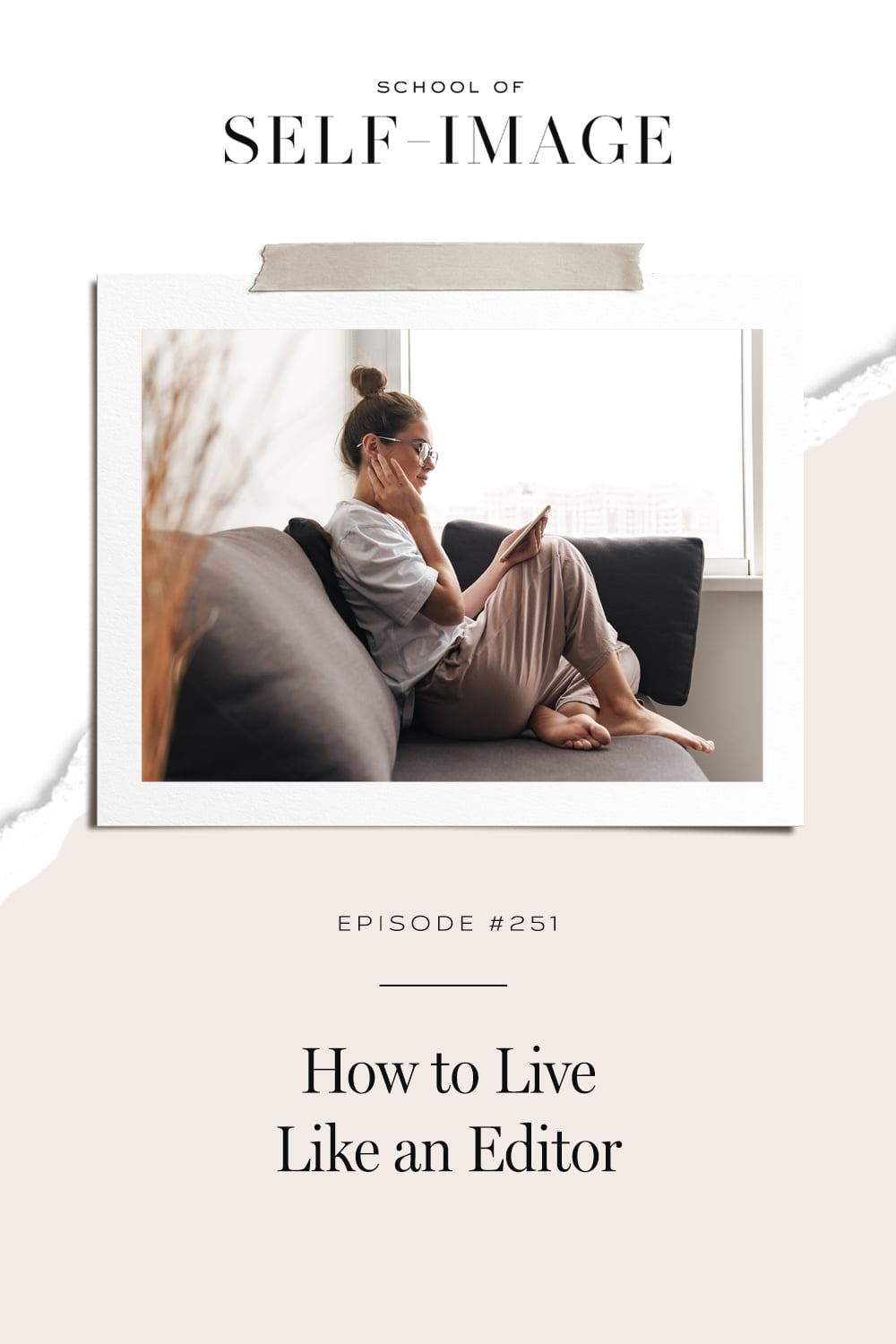 How to live your life as an artistic expression of what's possible.